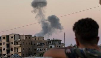 """Fin del califato del Estado Islámico """"está a la vista"""", asegura Trump"""