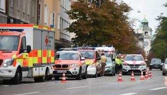 Policía alemana desactiva alarma tras detener al autor de ataque con cuchillo