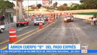 Abren Dos Carriles Paso Express