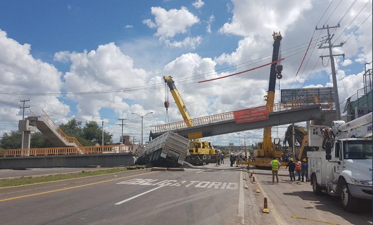 Choque múltiple deja cuatro lesionados en Aguascalientes