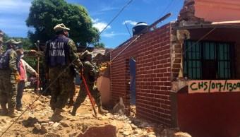 supervisa reconstrucción de viviendas dañadas tras sismo en Chiapas