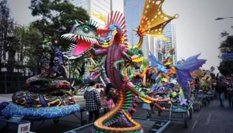 Alebrijes monumentales toman las calles de la Ciudad de México