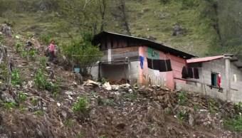 Alertan riesgo de deslave en 14 mil centros de población de Chiapas