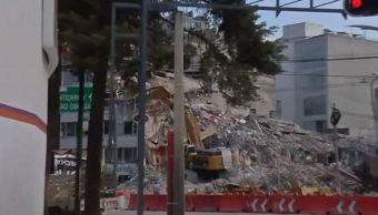 demolicion edificio alvaro obregon 286 derrumbo