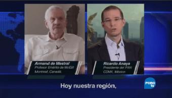 Anaya Dialoga Profesor Emérito Universidad Mcgill Canadá