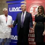 Trump asegura que de momento no hablará sobre la violencia de armas