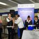 Armando Ahued aplica vacuna de influenza en módulo del Metro CDMX