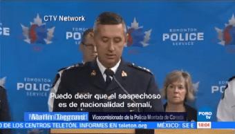 Arrestan Supuesto Terrorista Canadá Edmonton Herir A Cinco Personas