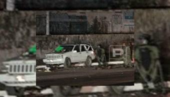 artefacto casero explota y hiere a cuatro agentes estatales