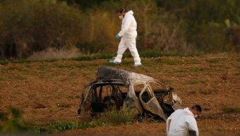 Muere periodista explotar coche bomba Malta