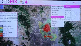 presentan actualizacion atlas riesgos ciudad mexico