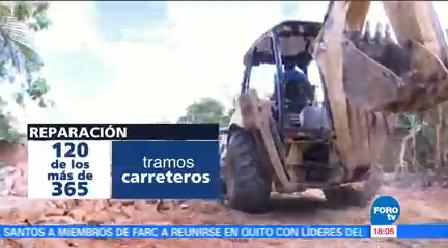 Avanza Demolición Viviendas Afectadas Sismo Chiapas