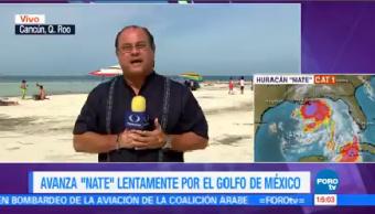 Huracán Nate Avanza Golfo México Autoridades Levantan Playas De Quintana Roo