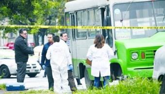 aumentan balaceras transporte publico reconoce sspcdmx