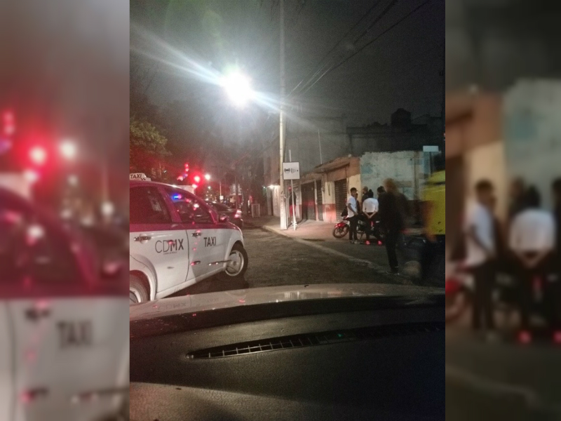 bloqueos sobre rio churubusco provoca caos vial