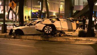 PGJCDMX niega violación de derechos al conductor del BMW en Reforma