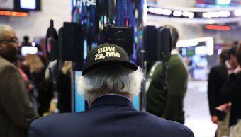Dow Jones cierra encima 23 mil puntos