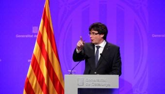 Carles Puigdemont declarará cuestión días independencia Cataluña