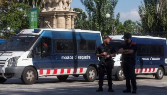 refuerzan seguridad antes plen parlamento catalan