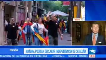 Cataluña Historia Declaración Independencia Corresponsal España Alberto Peláez
