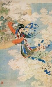Chang'e, diosa china de la Luna