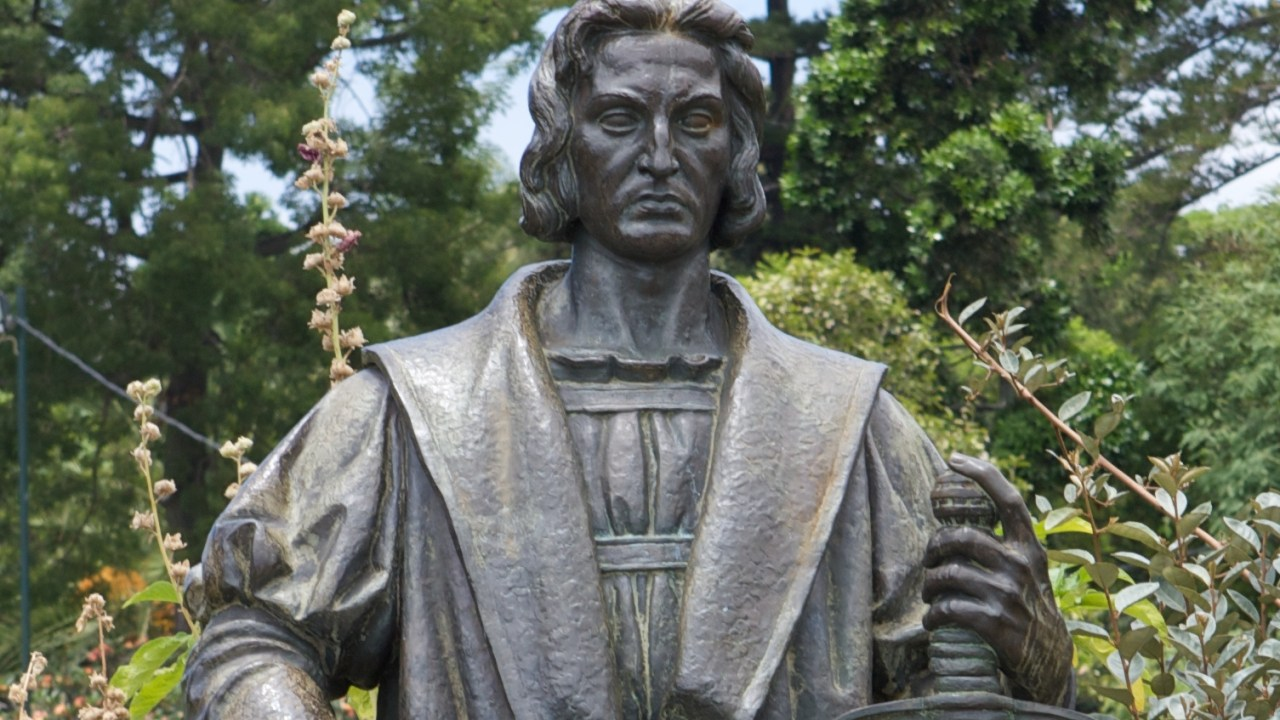 Cristobal Colón Estatua