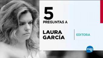 Cinco Preguntas Laura García Permite Conocerla
