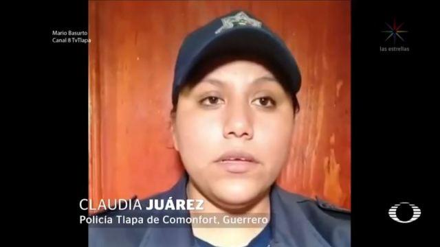 policia tlapa califica falsa acusacion violacion