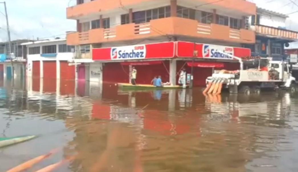 al menos 75 comercios están afectados por las lluvias