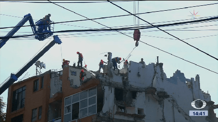 Continúa Demolición Béistegui Yácatas Colonia Narvarte