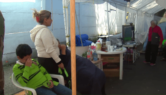 Convivencia en albergue de Tlalpan
