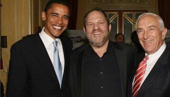 Weinstein donó miles de dólares a campañas de Clinton y Obama