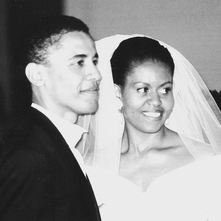 El conmovedor mensaje de Michelle a Obama por su aniversario