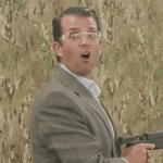 Trump Jr con armas