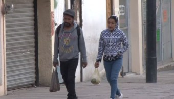 Drástico descenso de temperatura sorprende a habitantes de Coahuila