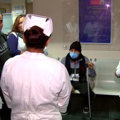 Durante sismo, médicos de la Raza trasplantan riñón a oscuras
