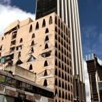 edificio afectado por sismo en la zona rosa