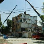 Inician labores de demolición de edificio dañado por sismo en colonia Narvarte