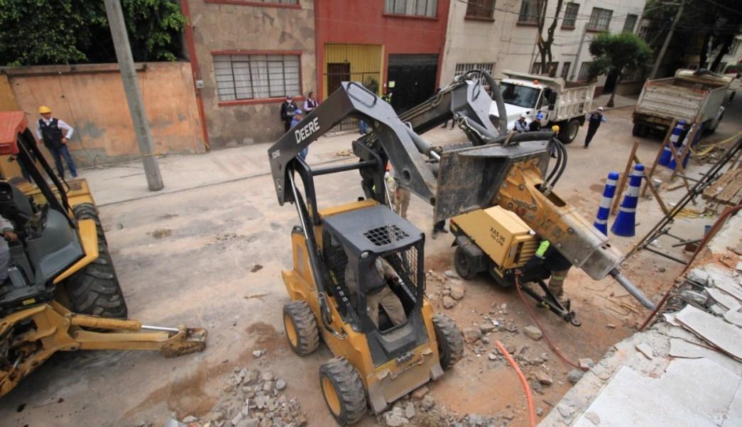 inician trabajos demolicion primer edificio benito juarez
