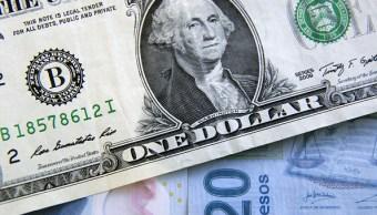 El dólar se vende en 18.65 pesos