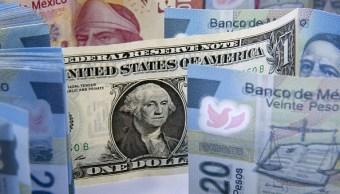 El dólar se vende en 19.18 pesos