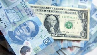 El dólar se vende en 19.22 pesos en bancos