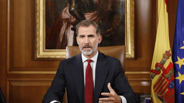 Rey Felipe VI acusa al gobierno catalán de deslealtad