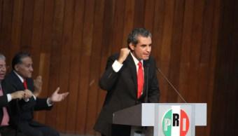 Enrique Ochoa habla del método de selección del candidato del PRI