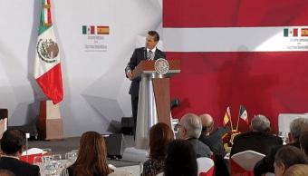 México no reconocerá independencia de Cataluña, afirma Peña Nieto