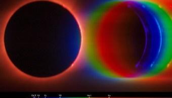 Agencia Espacial Europea muestra imagen del eclipse solar de agosto