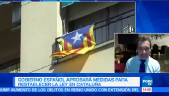 España Aprobará Medidas Restablecer Ley Cataluña Gobierno Español