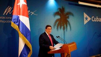 Cuba afirma que es injustificada e inaceptable expulsión sus diplomáticos