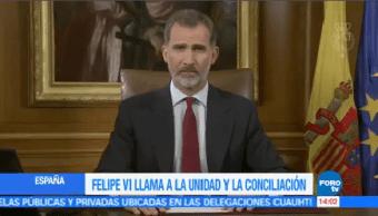 Felipe Vi Acusa Gobierno Catalán Deslealtad El Rey Autoridades De Cataluña Deslealtad Estado Español