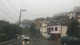 Frente frío provoca temperatura inferiores a 5 grado en Zacatecas